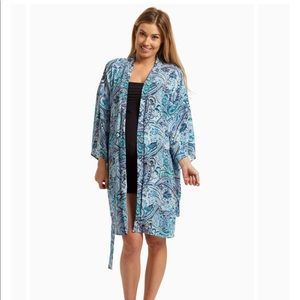 Pinkblush Tops - Maternity Pinkblush Paisley Delivery/Nursing Robe